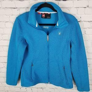 SPYDER | Core full zip knit sweater jacket